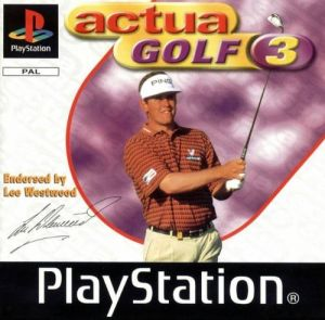 Actua Golf 3 for PlayStation