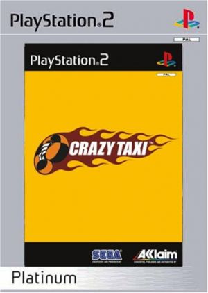 Crazy Taxi [Platinum] for PlayStation 2