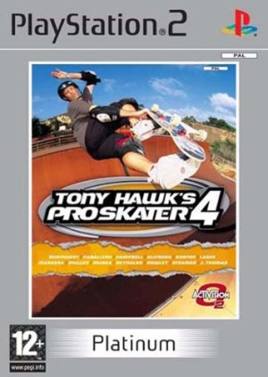 Tony Hawk's Pro Skater 4 for PlayStation 2