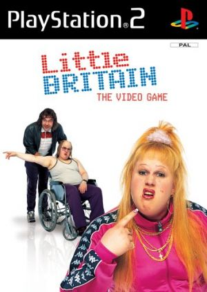 Little Britain The Video Game for PlayStation 2