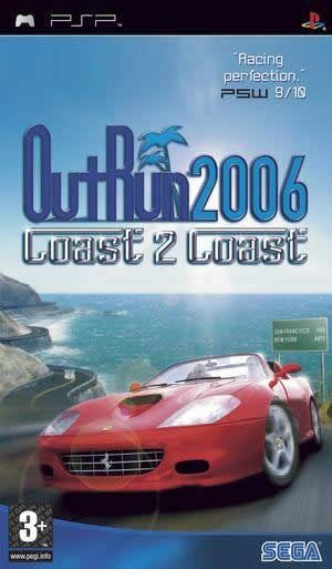 OutRun 2006: Coast 2 Coast for Sony PSP