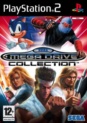 Sega Mega Drive Collection for PlayStation 2