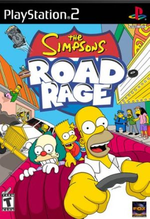 The Simpsons: Road Rage for PlayStation 2