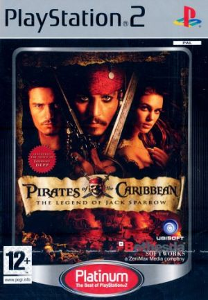 Pirates of the Caribbean: The Legend of Jack Sparrow [Platinum] for PlayStation 2