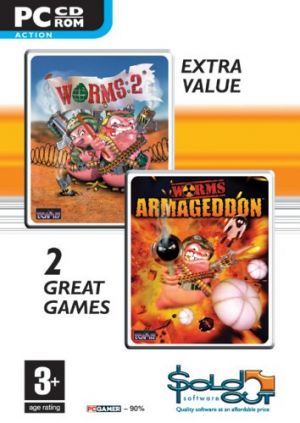 Worms 2 + Armageddon Double Pack [Sold Out] for Windows PC