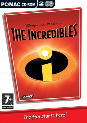 Disney Pixar The Incredibles for Windows PC