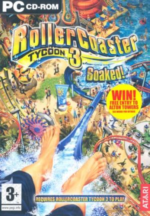 RollerCoaster Tycoon 3: Soaked Expansion Pack for Windows PC