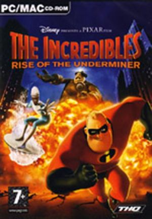 Disney Pixar The Incredibles: Rise of the Underminer for Windows PC