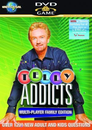 Telly Addicts: Multi-Player Family Edition for DVD