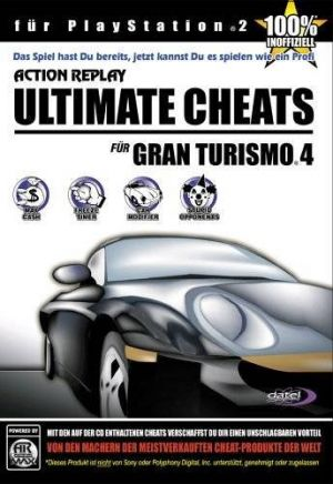 Action Replay Ultimate Cheats for Gran Turismo 4 for PlayStation 2