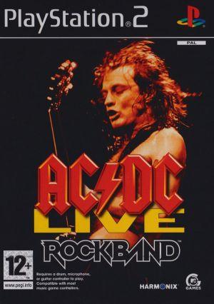 AC/DC Live: Rockband for PlayStation 2