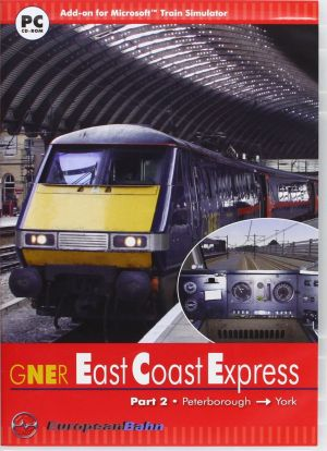 East Coast Express 2: Peterborough to York - Add-On for MS Train Simulator for Windows PC