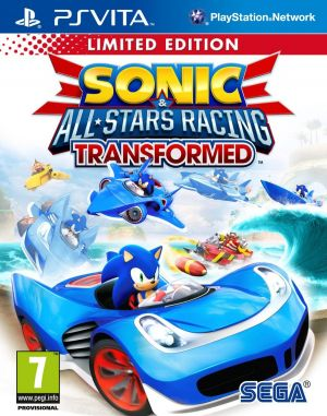 Sonic & All-Stars Racing: Transformed [Limited Edition] for PlayStation Vita