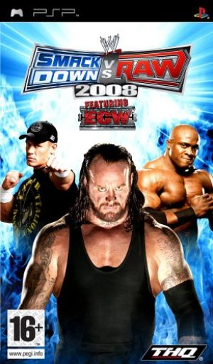 WWE Smackdown Vs Raw 2008 for Sony PSP