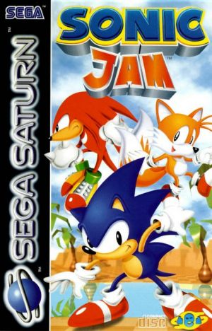 Sonic Jam for Sega Saturn