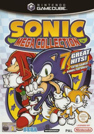 Sonic Mega Collection for GameCube