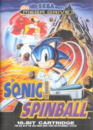 Sonic The Hedgehog Spinball for Mega Drive