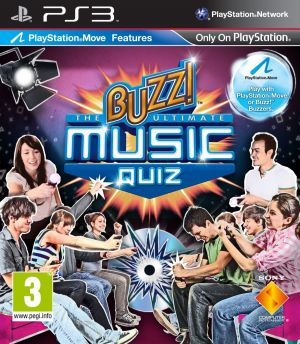 Buzz! The Ultimate Music Quiz for PlayStation 3