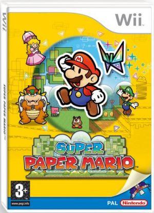 Super Paper Mario for Wii