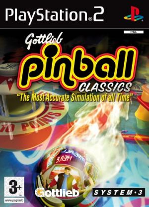 Gottlieb Pinball Classics for PlayStation 2