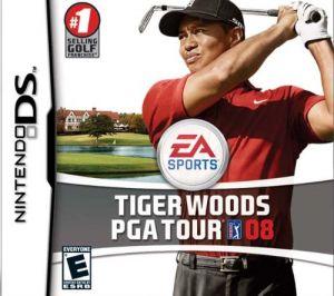 Tiger Woods PGA Tour 2008 for Nintendo DS