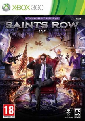 Saints Row IV (Commander in Chief Edition) for Xbox 360
