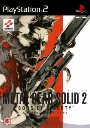 Metal Gear Solid 2: Sons of Liberty [With Bonus DVD] for PlayStation 2