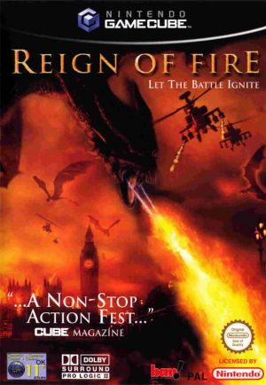 Reign of Fire for GameCube