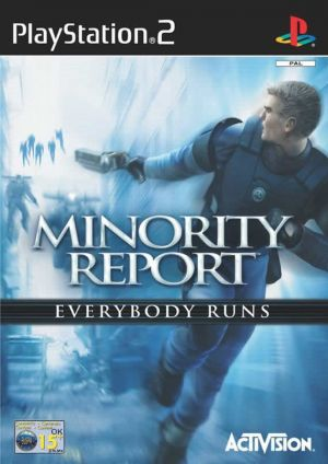 Minority Report: Everybody Runs for PlayStation 2