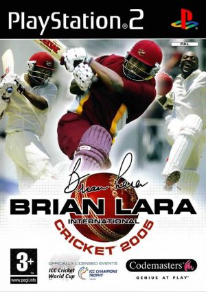 Brian Lara International Cricket 2005 for PlayStation 2