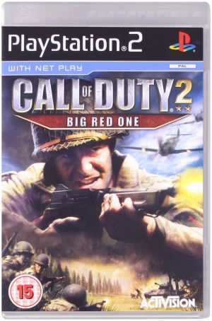 Call of Duty 2: Big Red One for PlayStation 2