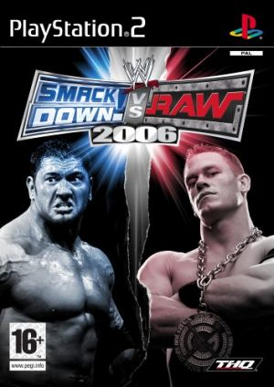 WWE SmackDown! vs. Raw 2006 for PlayStation 2