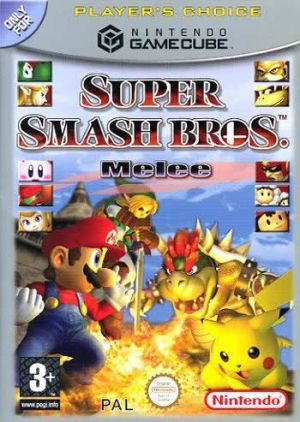Super Smash Bros. Melee (Player's Choice) for GameCube