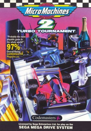 Micro Machines 2: Turbo Tournament for Mega Drive