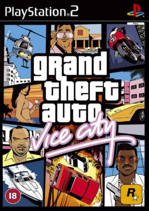 Grand Theft Auto: Vice City for PlayStation 2