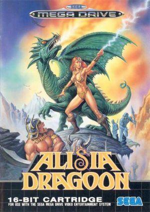 Alisia Dragoon for Mega Drive