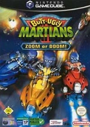 Butt-Ugly Martians: Zoom or Doom! for GameCube