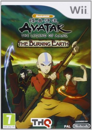 Avatar: The Legend of Aang - The Burning Earth for Wii