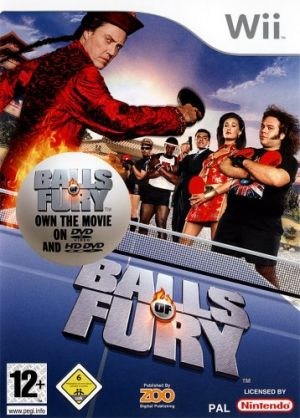 Balls of Fury for Wii
