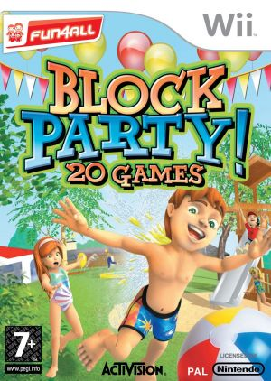 Block Party 20 Games for Wii