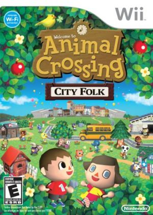 Animal Crossing: Let's Go To The City for Wii