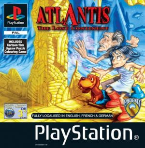 Atlantis: The Lost Continent for PlayStation