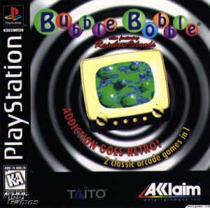 Bubble Bobble (also featuring Rainbow Islands) for PlayStation