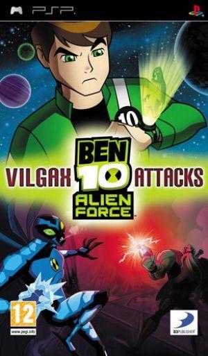 Ben 10 Alien Force: Vilgax Attacks for Sony PSP