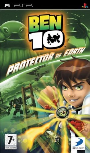 Ben 10 Protector of Earth for Sony PSP