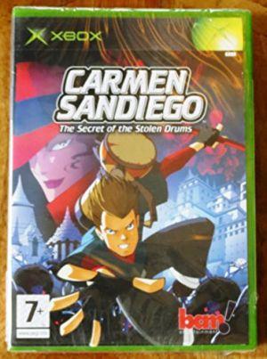 Carmen Sandiego The Secret of the Stolen Drums for Xbox