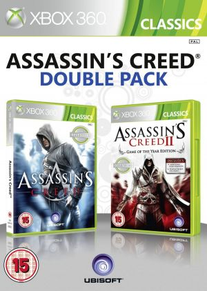 Assassin's Creed II + Assassins Creed - Double Pack for Xbox 360