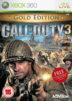Call of Duty 3 [Gold Edition] for Xbox 360