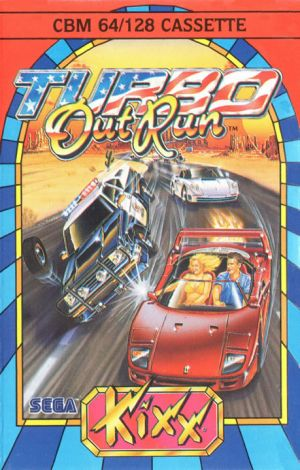 Turbo Outrun for Commodore 64