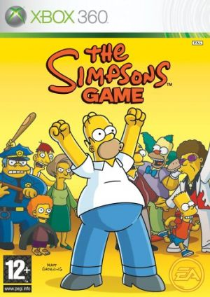 Simpsons Game, The for Xbox 360